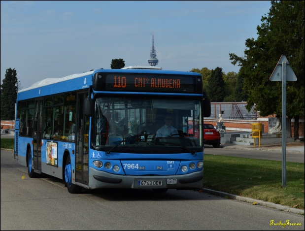 Todos los Santos. Servicio Especial de Autobuses de laEMT