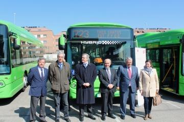 Herederos de j colmenarejo presenta su nueva flota de autobuses el intercambiador - Empresas colmenar viejo ...