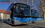 La EMT de Madrid incorpora sus primeros autobuses estándar 100% eléctricos