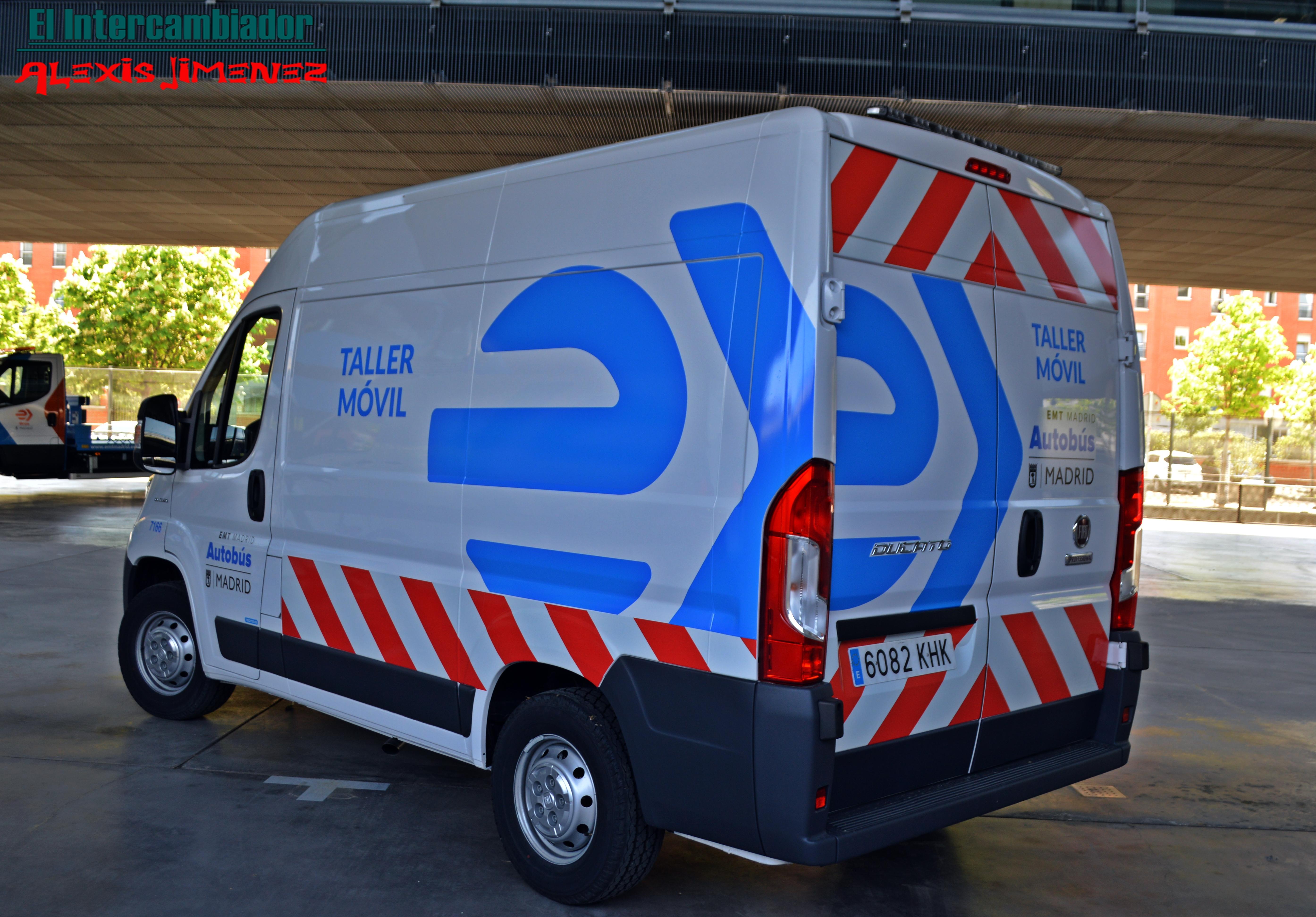 Nueva imagen para los talleres móviles del servicio de autobuses de la EMT de Madrid