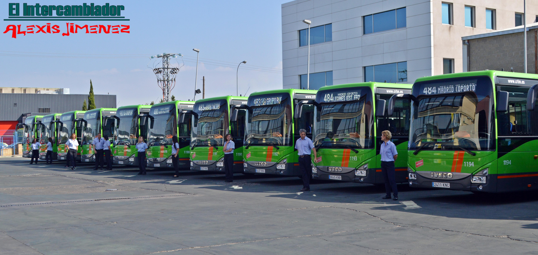 Estos nuevos autobuses se incorporarán a las líneas 480, 483, 484 y 495